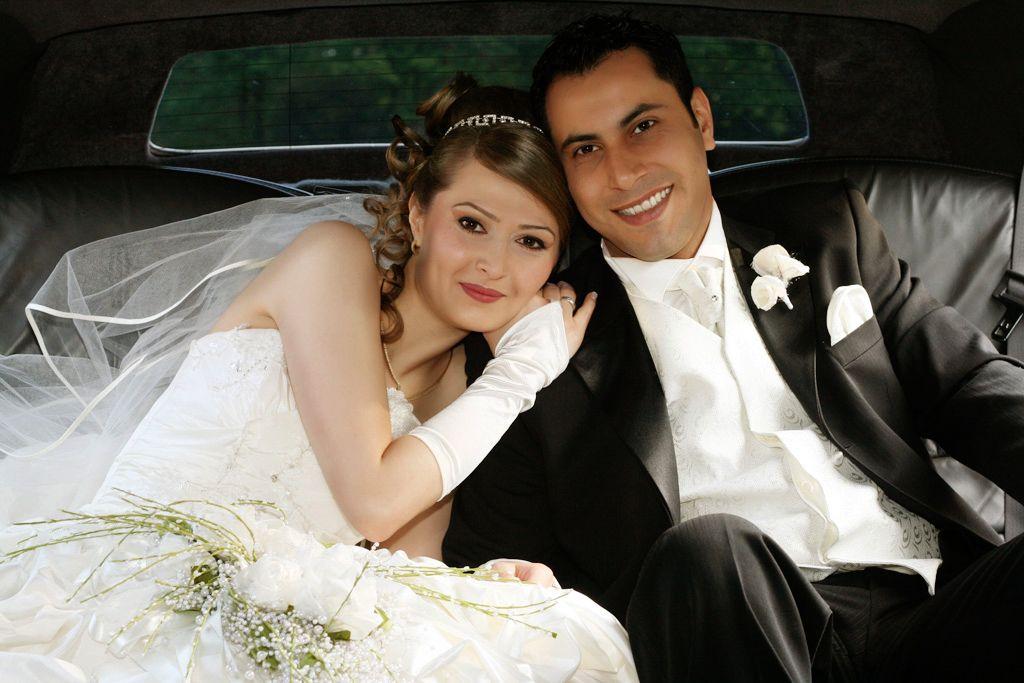 Image of wedding limousine service Orlando, fl.