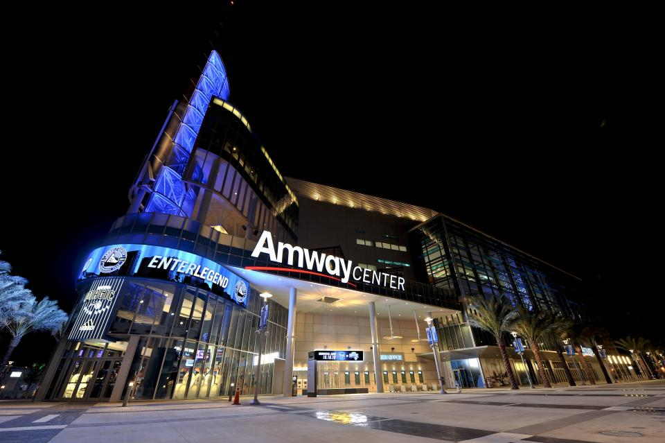 Photo of the Amway center